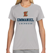E - NW3201-PF A4 Ladies' Short-Sleeve Cooling Performance Crew