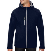 Logo - 88166 - North End Men's Prospect Two-Layer Fleece Bonded Soft Shell Hooded Jacket