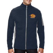Logo - 88123-PF North End Men's Microfleece Jacket