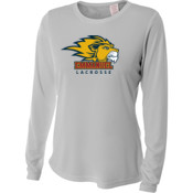 Logo - NW3002-PF A4 Ladies' Long Sleeve Cooling Performance Crew Shirt