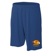"Logo - N5338-EC A4 Men's 9"" Inseam Pocketed Performance Shorts"