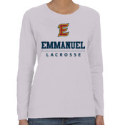 E - G540L-EC Gildan Ladies' 5.3oz. Long-Sleeve T-Shirt