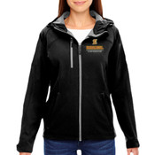E - 78166 - North End Ladies' Prospect Two-Layer Fleece Bonded Soft Shell Hooded Jacket