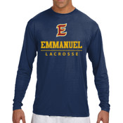 E - N3165-PF A4 Long-Sleeve Cooling Performance Crew Neck T-Shirt