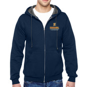 E - SF73R-EC Fruit of the Loom Adult 7.2oz. SofSpun® Full-Zip Hooded Sweatshirt